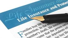 Life insurance (Igor Dimovski/Getty Images/iStockphoto)