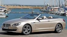 2012 BMW 650i. (BMW)