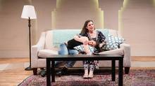 Dalal Badr and Naomi Wright star in Kiss at Canadian Stage. (James Heaslip)