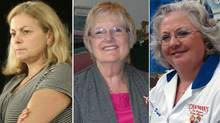 A composite image of Laurie McCurlie, Janet Cockburn and Penny Chapman. These businesses endured hardships - including a divorce, cancer and a devastating fire - and bounced back stronger than ever.