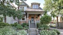 Home of the Week, 270 Withrow Ave., Toronto. Exterior. Built in 1926 for the owner of a cartage business, with a coach house at the rear offering plenty of room for his carts and horses. (Photo by Tom Woodside)