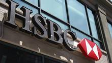 A view shows the entrance to a HSBC Bank branch in New York. (Shannon Stapleton/Reuters)