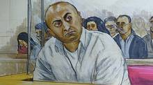 The second-degree murder trial of Mukhtiar Panghali shown here continues in B.C. Supreme Court, Nov, 2010. (Felicity Don / The Globe and Mail/Felicity Don / The Globe and Mail)