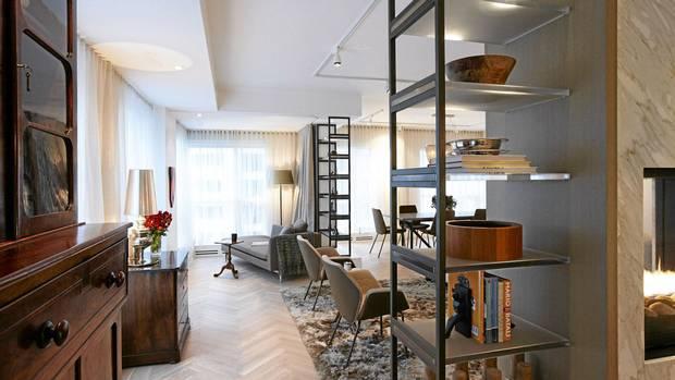 A toronto condo gets a contemporary jolt the globe and mail for Tom hoch interior designs inc