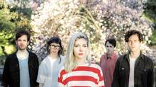 Molly Rankin, centre, with the band Alvvays. The indie outfit has just released a beachy, jangling self-titled debut album. (Gavin Keen)