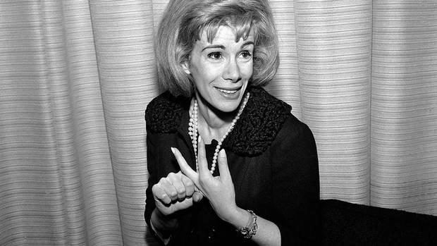 This April 12, 1965 file photo shows Joan Rivers in Los Angeles. (Dan Grossi/AP Photo)