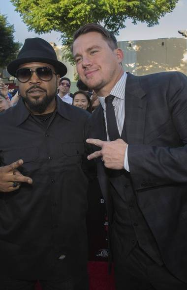 Hooray for Hollywood and cash-grab movie sequels. Anybody else mortified by the image of Channing Tatum flashing gang signs with Ice Cube at the premiere of 22 Jump Street in Los Angeles? Nobody? Back in the day, such hand gestures would have resulted in a turf war (MARIO ANZUONI/REUTERS)