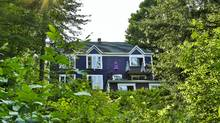Mr. Lajeunesse and Ms. Ratté tore down the original cottage-style bungalow on the property and built instead a 4,200-square-foot home. (Jerome Labrecque)