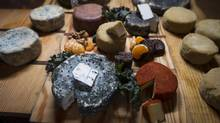 Sophisticated diners look at vegan choices, such as these gourmet cheeses made from nuts at Graze restaurant in Vancouver, as one more adventure. (John Lehmann/The Globe and Mail)