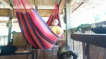 The writer gets the hang of relaxing in the Philippines. While on this trip, he learned that good things can happen with he says, 'yes.' (Jairus Khan)