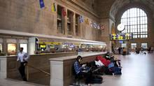 A view of Toronto's Union Station on May 9, 2013. (Moe Doiron/The Globe and Mail)