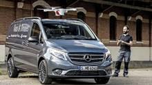 Mercedes-Benz Vans adVANce: solutions@vans, Vans and Drones (Daimler)