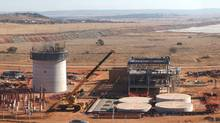 This handout photo received 13 February 2007 courtesy SXR Uranium One Inc. in Toronto, shows the SXR Uranium One Dominion processing plant in Klerksdorp, South Africa. Canadian mining group SXR Uranium (HO/AFP/Getty Images)