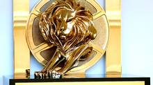 A Cannes Lions International Advertising Festival award. (Cannes Lions)
