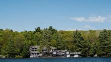 Bidding wars were common last summer for properties on the coveted shores of Lake Rosseau and other Muskoka lakes. (James MacDonald/Bloomberg)