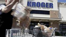 Patrick Kim of Georgian Capital Partners says one flower he's currently nurturing is the supermarket chain Kroger Co. seen here in Houston. (Pat Sullivan/The Associated Press)