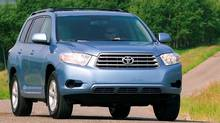 The four-cylinder Highlander will tow up to 1,587 kilograms.