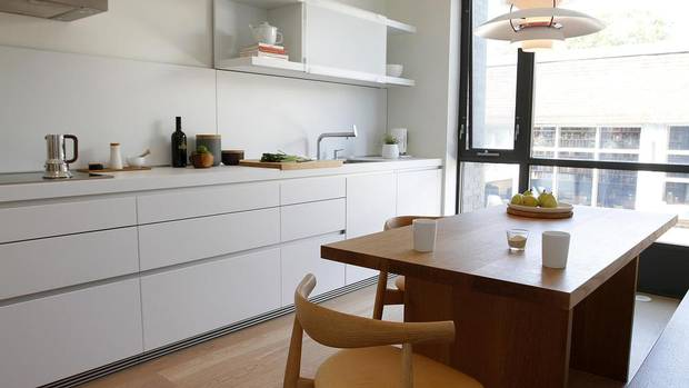 For All Its Minimalism Todd Wood S Kitchen Doesn T Sacrifice Coziness The Globe And Mail