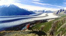 The Kaskawulsh Glacier in Yukon. (Government of Yukon)