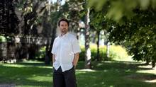 University of Ottawa Prof. Glenn Milne is among authors developing the next UN report on climate change. (Dave Chan for The Globe and Mail)