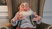 """Screen grab from the online trailer for the new animated feature """"Arthur Christmas"""""""