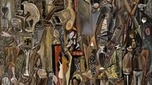 Mark Tobey's Rummage 1941. (See below for the full work.)