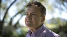 Gareth Kirby poses in Vancouver, B.C. Thursday, July, 10, 2014. (JONATHAN HAYWARD/THE CANADIAN PRESS)