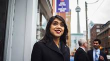 Minister of Small Business and Tourism, Bardish Chagger, tours small businesses in Toronto which were started with the assistance of Futurpreneur on December 14, 2015. JENNIFER ROBERTS FOR THE GLOBE AND MAIL (JENNIFER ROBERTS/JENNIFER ROBERTS FOR)