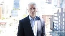 Anderson Cooper, poses in Toronto Thursday, June 2, 2011. (Darren Calabrese/Darren Calabrese/THE CANADIAN PRESS)