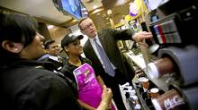 McDonald's Canada CEO John Betts at one of the chain's Toronto outlets. 'The food is a lot more relevant today.' (Kevin Van Paassen/The Globe and Mail/Kevin Van Paassen/The Globe and Mail)