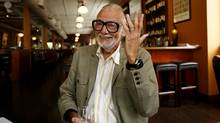 George Romero is photographed in Toronto in 2007. (Ryan Carter/The Globe and Mail)