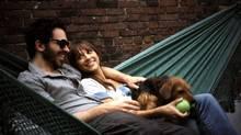 Chris Messina, left, and Rashida Jones star in the 2010 film, Monogamy. (Oscilloscope Pictures)