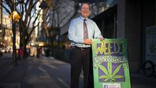 Don Briere, the owner of the Weeds Glass and Gifts chain, which has 21 locations in British Columbia and Ontario, said he is opening a franchise in Montreal before the end of this year and hopes to have more than 100 by 2018. (John Lehmann/The Globe and Mail)