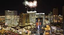 The official opening of the Aria hotel-casino in Las Vegas in December, 2009. The project is the centerpiece of the $8.5-billion CityCenter, which is a partnership between MGM Mirage and Dubai World. (STEVE MARCUS/Steve Marcus/Reuters)