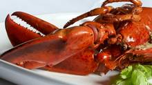 Lobster at a restaurant (Photos.com)