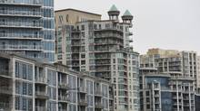 File photo of condominiums built along the waterfront in the west end of Toronto. (Fred Lum/The Globe and Mail)