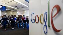 "Google hires employees who love to learn and for ""the things they don't know yet."" (Mark Lennihan/ASSOCIATED PRESS)"