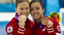 BRONZE - Roseline Filion and Meaghan Benfeito, 10m synchronize platform diving (Kevin Van Paassen/THE GLOBE AND MAIL)