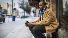 Hugh Lampkin, president of the Vancouver Area Network of Drug Users, says not enough is being done to cut off the medical sources of black-market opioids. (John Lehmann/The Globe and Mail)