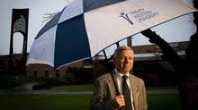 Trinity Western University President and Chancellor Bob Kuhn at the university in Langley, B.C. (Darryl Dyck/The Globe and Mail)