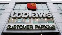 The Loblaws store located on St. Clair Ave.West in Toronto is shown on Wednesday, Feb. 18, 2009. (NATHAN DENETTE/NATHAN DENETTE/The Canadian Press)