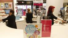 Shoppers Drug Mart store at the Eaton Center in downtown Toronto, October 22 2013. (Fernando Morales/The Globe and Mail)