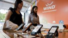 Wind Mobile captured 35 per cent of net new customers in the most recent quarter. (Sarah Dea/The Globe and Mail)