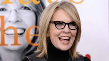 "Diane Keaton attends the premiere of ""Morning Glory"" in New York City last week. (AP)"