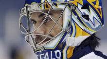 Could the Buffalo Sabres' Ryan Miller be heading to the Windy City in a deal for Patrick Kane? (AP Photo/David Duprey) (David Duprey)