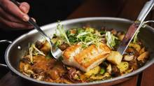 The pan roasted lingcod at Cactus Club. (JENNIFER ROBERTS FOR THE GLOBE AND MAIL)