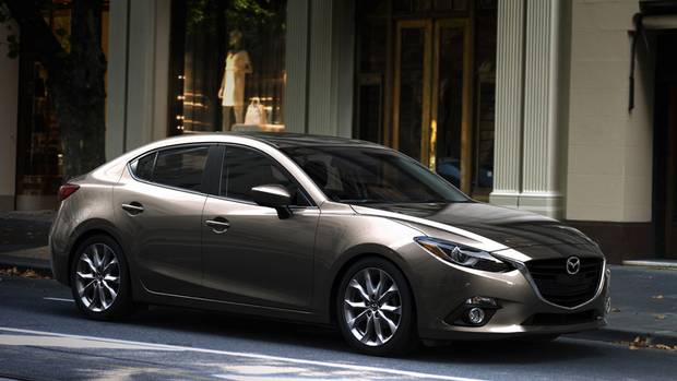 Best New Small Car (under $21k): Mazda3 (Mazda)