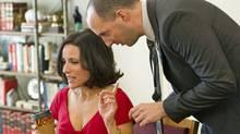 Julia Louis-Dreyfus and Tony Hale in HBO's Veep. (Bill Gray / HBO)
