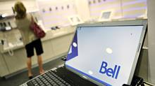 Bell store at Rideau Centre in Ottawa Aug. 12, 2010. (Blair Gable/Blair Gable for The Globe and Mail)