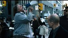 The Conspiracy Aaron (Aaron Poole) and Jim (James Gilbert) are documentary filmmakers who decide to make a film about Terrance G. (Alan C. Peterson), a local conspiracy theorist who takes to the streets and shouts his theories through a megaphone.